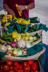 Fresh Produce from the Farmers Market, Liberty Lake, Washington