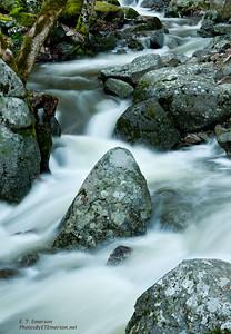 Below Bridalveil Falls