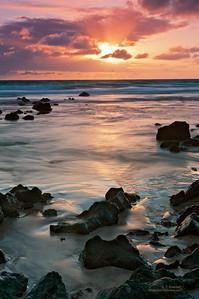Maui Beach Sunrise (Hana Side)