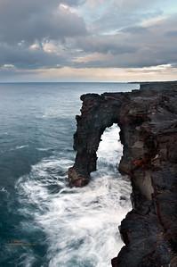 Lava Arch on the Big Island