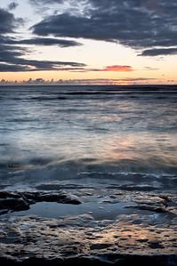 Ke'e Beach (Na Pali Coast) Sunset