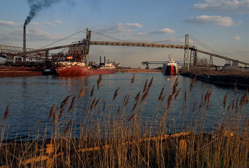 Calumet River Steel Mills 1993