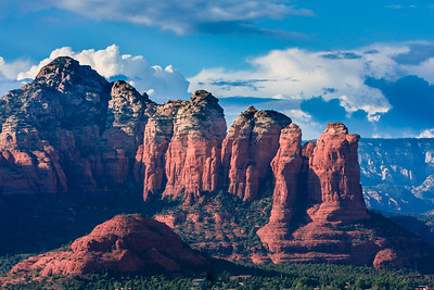 Sedona Arizona Mountains with Red Rocks
