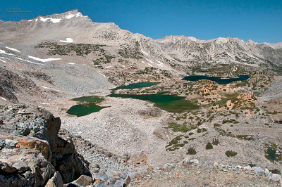 View From Bishop Pass