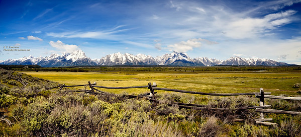 Wyoming's Grand Teton Range
