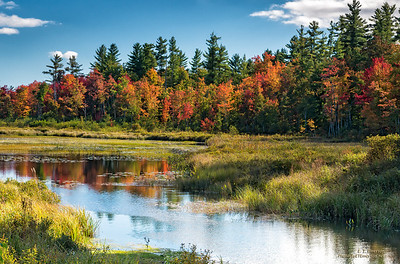 Pond near Fryeburg ME