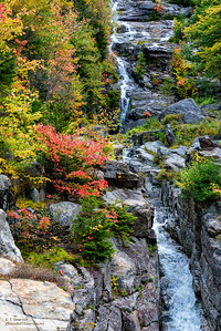 Cascade in White Mountain National Forest, NH