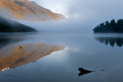 Alabaster Lake (NZ) in Early Morning