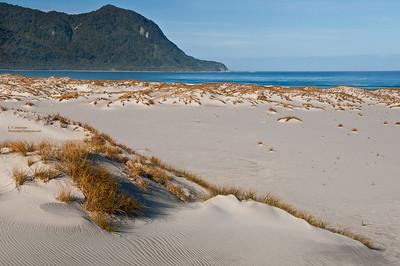 Martin's Bay (NZ) Sand Dunes