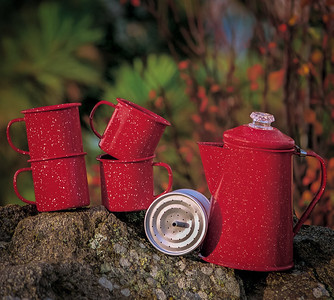 Outdoor Product Photography taken for the GSI Outdoors Catalog of Camping and Backpacking Cookware