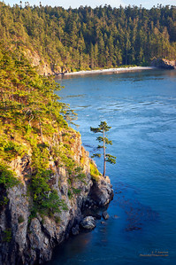 Deception Pass (WA) near Sunset