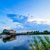 Amelia Earhart Dam-Mystic River-Medford-Sunset