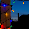 Christmas Lights-Sunset