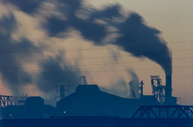 East Chicago Steel Mills - 1990