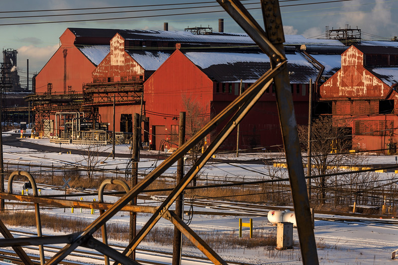 East Chicago Steel Mills - January 2018