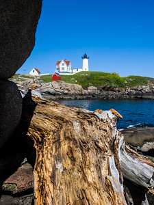 Lighthouse in York, ME