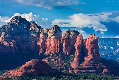 Sedona Arizona Mountains with Red Rocks