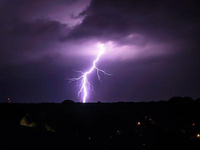 Lightning over Hilton Head South Carolina