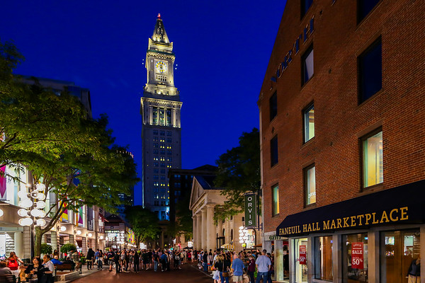 Faneuil Hall Marketplace-Boston