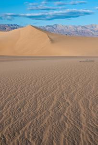 Mesquite Dunes in Death Valley