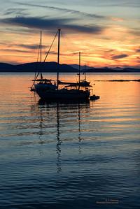 Sucia Island (San Juans) Sunset