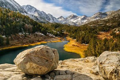 Mack Lake in SE Sierra