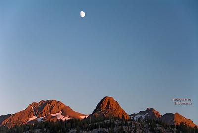 Moon Over Round Top