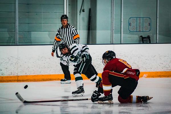 Sawyer Schugel (3) - Holy Family Boys Hockey