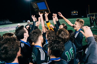 Holy Family Boys Soccer Section 6A Champs - Crown College