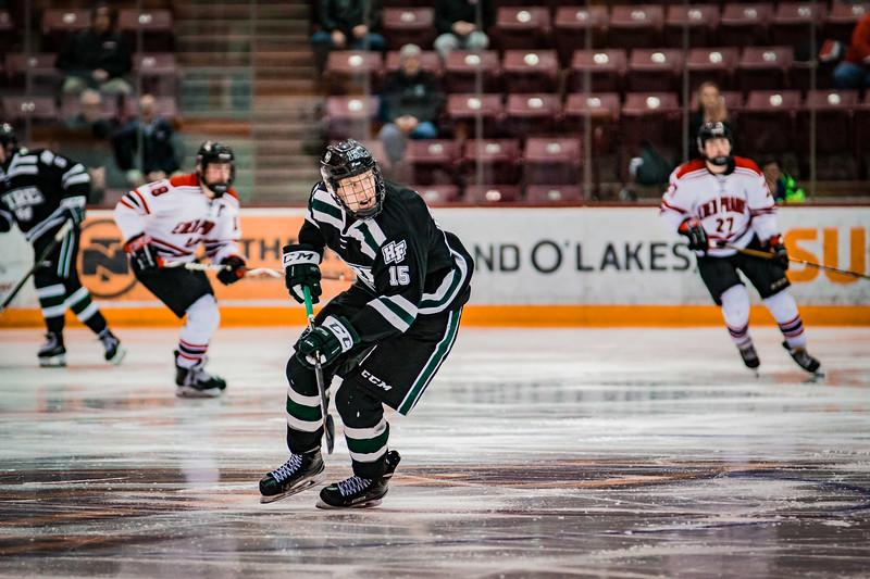 Nikolai Charchenko (15) - Holy Family Boys Hockey