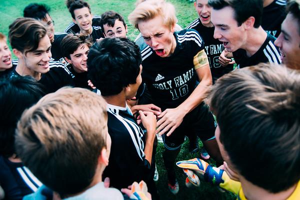 Luke Puklich (10) - Holy Family Boys Soccer