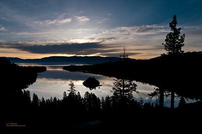 Emerald Bay Twilight