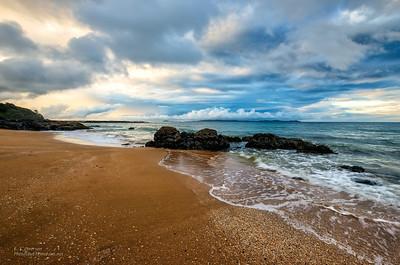 Cable Bay Beach (NZ) Sunset