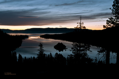 Emerald Bay Twilight