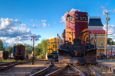 New Hampshire-Train-North Conway
