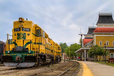 New Hampshire-Train-North Conway