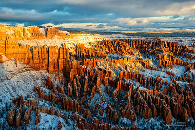 Stunning Bryce Point Winter Sunrise