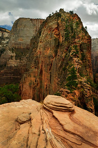 Zion NP - Trail up to Angel's Landing