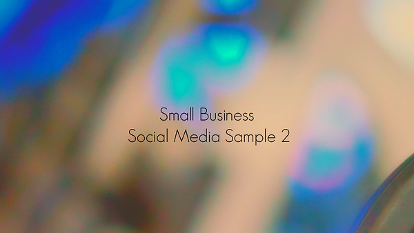 Small Business Video Sample: Space39