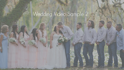 Wedding Video Sample with Jess & Rich