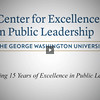 George Washington University CEPL Graduate Program Promotional Video