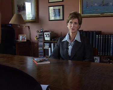 VIDEO: Interview of Christie Todd Whitman, one-time Governor of NJ and head of the EPA, on her opinions of the 2006 mid-term elections; for broadcast in Italy