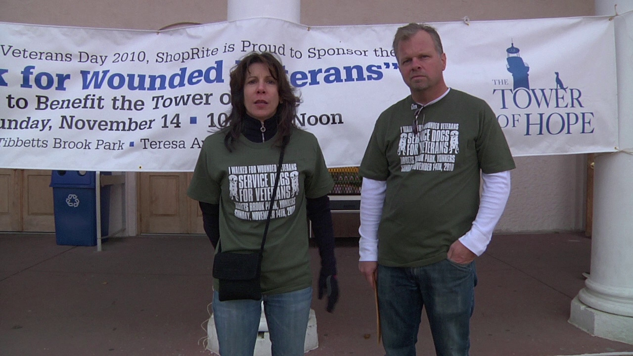 VIDEO: Walk for the Wounded story; shot for and broadcast by the Patch.