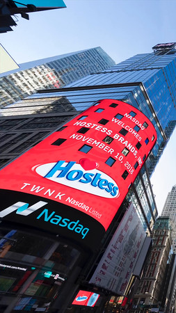 Nasdaq / Hostess Ad for Snapchat (Ad 1)