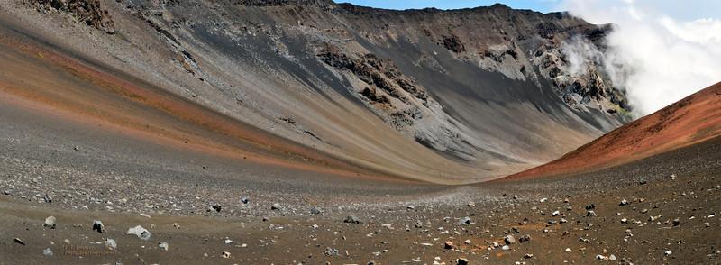 Sweeping View in Haleakala