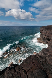Lava Coastline on the Big Island