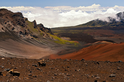Colorful view of Haleakala