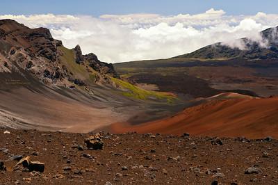 Colorful view of Haleakala
