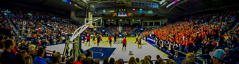 Gonzaga University Basketball, McCarthey Athletic Center, Spokane, WA. Mark Few,  Head coach- the Bulldogs are in the WCC Conference… Go Zags!