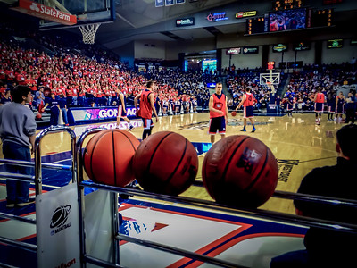 Gonzaga University Basketball, McCarthey Athletic Center, Spokane, WA. Mark Few,  Head coach- the Bulldogs are in the WCC Conference… Go Zags!